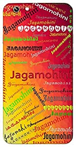 Jagamohini (Popular Girl Name) Name & Sign Printed All over customize & Personalized!! Protective back cover for your Smart Phone : Samsung Galaxy S5 / G900I