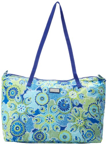 hadaki-by-kalencom-neworleans-bolso-de-tela-de-nailon-para-mujer-azul-blau-bunt-gemustert