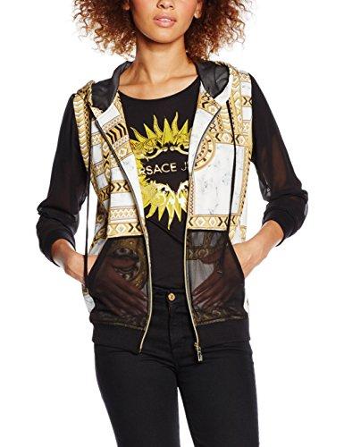 Versace Jeans EB6HNB764_E36130, Felpa Donna, Bianco-E003, XXS