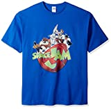 Warner Brothers Men's Big and Tall Team Looney Tunes Space Jam T-Shirt, Royal