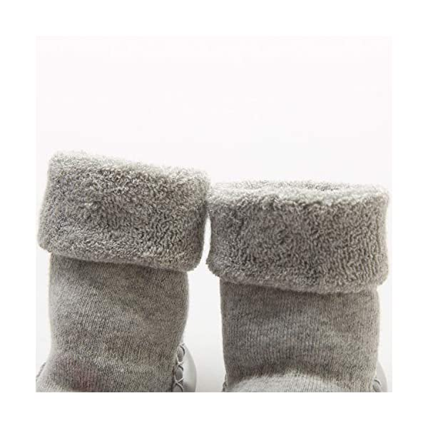 Adorel Calcetines Zapatos Antideslizantes Forros Bebé 2 Pare 4