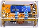 DC Buck Convertidor,Yeeco DC 6-32 12V 24V a 1.5-32V 5V 5A Adjustable Convertidor Reductor con Carcasa Transparente, Tablero de Regulación de Voltaje d