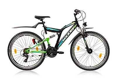 tretwerk DIREKT gute Räder Leader Chicago Street Disc 26 Zoll Mountainbike, Jungen-Herren-Fahrrad