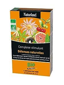 Naturland Défenses Naturelles Bio 20 Ampoules de 15 ml