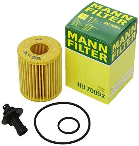 Original MANN-FILTER Ölfilter HU 7009 z – Ölfilter Satz mit Dichtung / Dichtungssatz – Für PKW