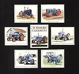 Ford und Fordson Tractors Art Trading Karten–50006Y Roadless ploughmaster 65Ford 50006X Neue Leistung super Dexta Super Major E1A neuen wichtigen e27m Major
