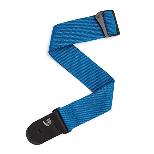 Planet Waves PWS102 Polypropylengurt Poly-Pro Strap Collection Blue Länge: 889mm - 1511mm Breite: 50mm (Polypropylen-gitarrengurt)