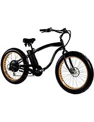 """MONSTER - Ist das Fat Elektrobike - Is The Electric Fat Bike - Rahmen: Alu Hydro TB 7005 - Räder: 26 """" - Shimano Alivio 6-sp - Shimano Alivio 14-28 Zähne - Auf Schnee oder Sand Rollen"""