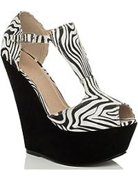 2300e76acf808f Suchergebnis auf Amazon.de für  Ajvani - Sandalen   Damen  Schuhe ...