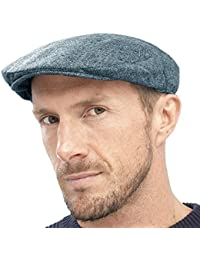 4cedd91fd04 Raiken Men s Country Herringbone Peaked Flat Caps Military Cotton Hat