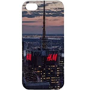 Casotec New York Design Hard Back Case Cover for Apple iPhone 5 / 5S