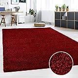 Hochflor Teppich | Shaggy Teppich fürs Wohnzimmer Modern & Flauschig | Läufer für Schlafzimmer, Esszimmer, Flur und Kinderzim