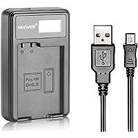 Neewer® Cargador de Batería USB para Batería Recargable EN-EL15 para Nikon D600 D610 D7000 D7100 D750 D800 D800S D800E D810