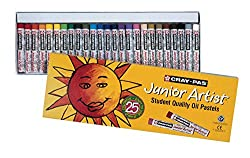 Sakura XEP25 25-Piece Cray-Pas Junior Artist Assorted Color Oil Pastel Set