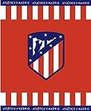 Atlético de Madrid. Manta Coral para Sofá de 160x130cm. Mod.2018