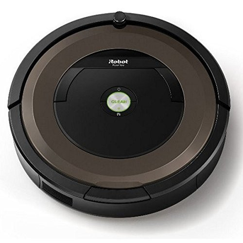 iRobot Roomba 896 0.6L Nero, Marrone aspirapolvere robot
