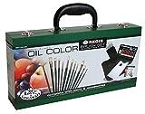 Royal & Langnickel RSET-OIL2000 - Set caja de madera de brochas para pintura al óleo