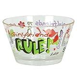 Lolita Girlfriends Rule 20-Ounce Acrylic Bowls, Set of 2