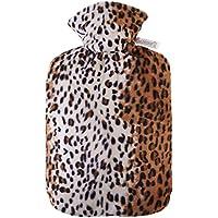 YUN Leopard Mantel Warmwasser Tasche Mode Kreative 1.8L Explosionsgeschützte Warmwasser Tasche preisvergleich bei billige-tabletten.eu