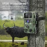 """TOGUARD Trail Game Camera 14MP 1080P Infrared Night Vision Hunting Camera Motion Activated Wild Hunting Cam 120° Detection 0.3s Trigger Speed 2.4"""" LCD Display IP56 Waterproof Bild 5"""