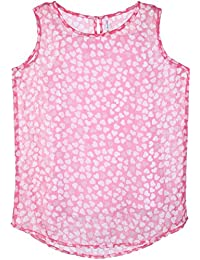 Poppers by Pantaloons Girls' Printed Regular Fit T-Shirt