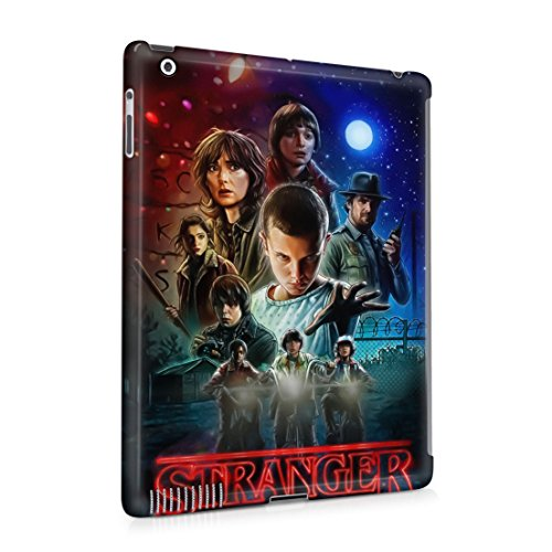 Stranger Things All Characters Apple iPad 2 / iPad 3 / iPad 4 Hard Plastic Case Cover