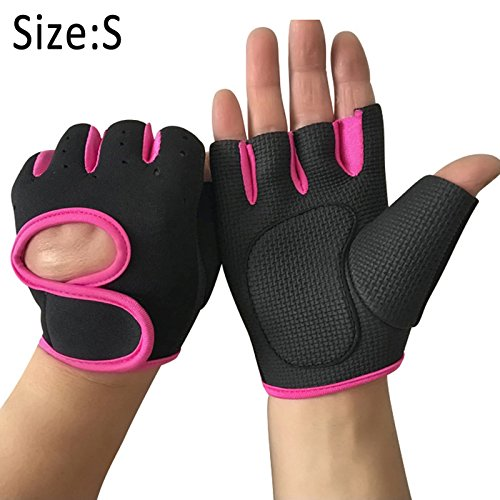 Symboat 1par mujeres hombres Work Out guantes peso