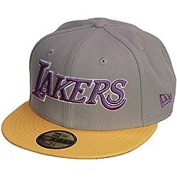 Nueva Era 59Fifty Equipo Wordmark Cap ~ LA Lakers