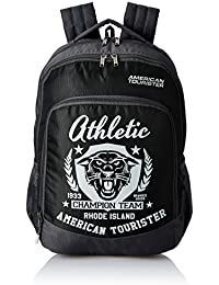 American Tourister 27 Ltrs Black Casual Backpack (AMT VOLT BACKPACK 02 - BLACK)