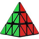 Aiduy Pirámide Pyraminx Speed Cube, Mágico Rompecabezas Cubo para el Desarrollo de Inteligencia de los Niños, Juego de Cubo de Velocidad para Adults