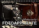 Historische Fotoapparate (Tischkalender 2019 DIN A5 quer): Nostalgische Bilder alter Fotoapparate erzählen die Geschichte der Fotografie aus früheren ... 14 Seiten ) (CALVENDO Hobbys)