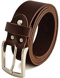 b5c6301454f97 Suchergebnis auf Amazon.de für: ledergürtel - Braun / Herren: Bekleidung