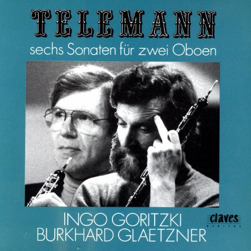 Telemann: Six Sonatas For Two Oboes