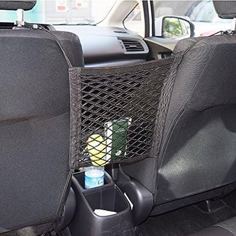 new-silk carretera coche asientos de reposabrazos de almacenamiento Organizador, Niños Mascotas Disturb Tapón
