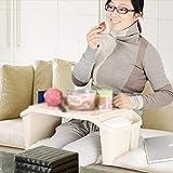 QTQZ Um Stühle zu schicken, Spielen Kinder Brisk- Tischchen Babytisch und Stuuml; HLE Plastik Anpassung Baby Lernen Tisch Spielzeug Tisch (Farbe: Blau-22CM) Test
