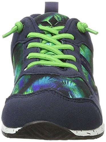 Lico Mädchen Leeds Sneaker Blau (Marine/Gruen)