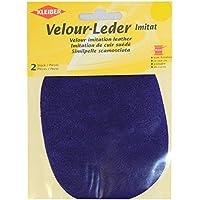 Kleiber - Rodilleras/coderas ovaladas de antelina, para coserlas, 12,5 x 10 cm, color flor de azafrán