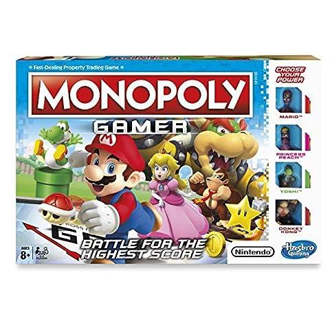 Hasbro – Monopoly Gamer – Jeu de Société Version Anglaise