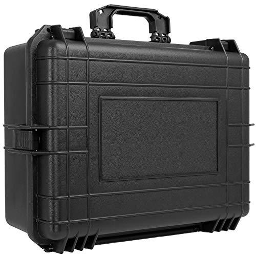 KESSER® Kamerakoffer unisversal, wasserdicht, Outdoor, wetterfester, staubdichter, Koffer, Fotokoffer mit Einlage für Kamera Objektive und Zubehör, -