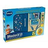 Vtech Lerntablet Storio 3 S Super Pack Zubehör Bundle, blau - Kopfhörer, Schutzfolie, Schutzhülle, Guthaben Karte für Downloads