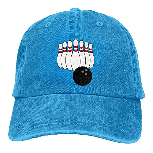 Cowboy Baseball Cap Men&Women Dad Style Hats Bowling Pin - Fedora-pin