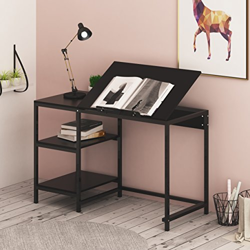 Cherrytree Furniture Computer Desk Drafting Table With