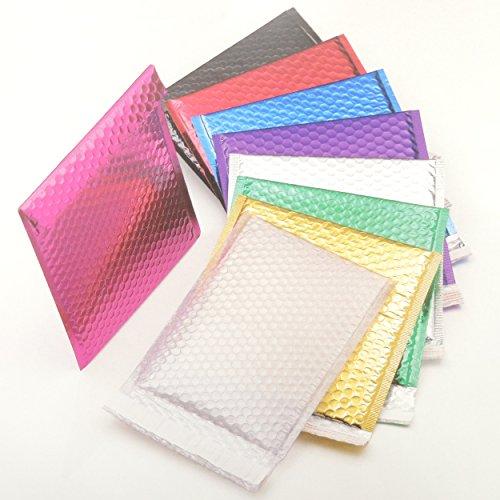 50-hot-pink-dvd-250-mm-x-180-mm-glanzend-metallic-folie-bubble-gepolsterte-jiffy-tasche-stil-versand