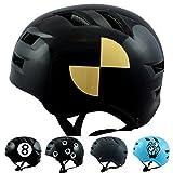Skullcap® BMX Helm ☢ Skaterhelm ☢ Fahrradhelm ☢, Longboard Helm, Größe M, Crash-Test