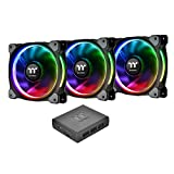 Thermaltake Riing Plus 14 RGB LED (mit Software, 3er Set) Gehäuselüfter