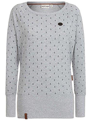 Naketano Female Sweatshirt Hodenschmerzen IV Grau
