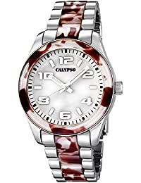 Reloj Calypso de mujer–Trend–Analog–Cuarzo–Plástico–uk5648/9