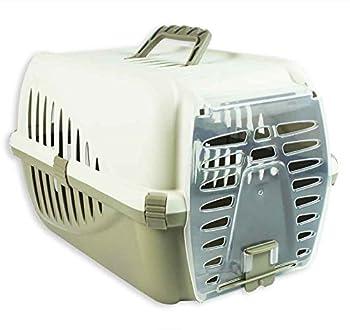 Cage de transport pour animal Chat Chaton Chiot Lapin de voyage Transport vétérinaire Confort d'entraînement