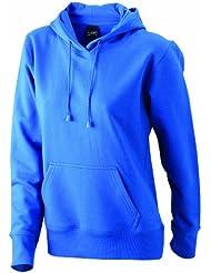 James & Nicholson Damen Sweatshirt Sweatshirt Ladies Hooded Sweat