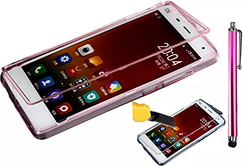 Vandot Coque pour Samsung Galaxy J5(2015) J500 Silicone TPU Bumper Unique Design Souple TPU Soft Cover Effacer Clair transparent Etui Housse Case - Feather Flip Red